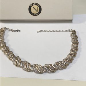 Napier gold and silver necklace